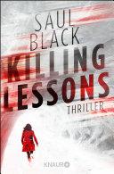 Killing Lessons: Thriller