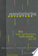 Manufacturing Advantage Book