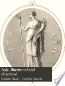 Italy  illustrated and described