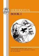 Herodotus  Histories I