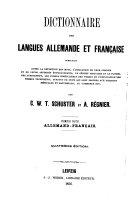 Wörterbuch der deutschen und französischen sprache ...