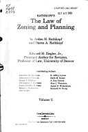 The Law of Zoning and Planning