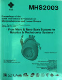 Proceedings of the ... International Symposium on Micromechatronics and Human Science