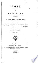Tales of a traveller, by Geoffrey Crayon, gent
