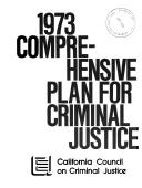 Comprehensive Plan for Criminal Justice