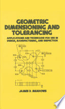 Geometric Dimensioning and Tolerancing Book