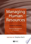 Managing Human Resources Book