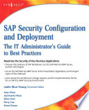 SAP Security Configuration and Deployment Book