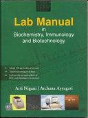 Lab Manual in Biochemistry Book