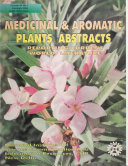 Medicinal   Aromatic Plants Abstracts Book