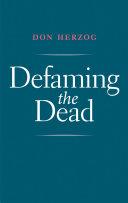 Defaming the Dead Pdf/ePub eBook