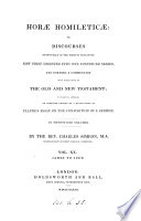 Horæ homileticæ, or Discourses, in the form of skeletons upon the whole Scriptures. [With] Appendix. (With indexes, prepared by T. H Horne). To which is annexed an improved ed. of a transl. of [J] Claude's Essay on the composition of a sermon Pdf/ePub eBook
