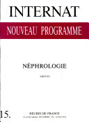 Nephrologie - Inp 15