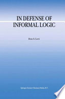 In Defense of Informal Logic