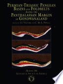 Permian Triassic Pangean Basins And Foldbelts Along The Panthalassan Margin Of Gondwanaland