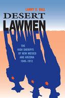 Desert Lawmen