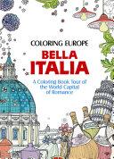 Coloring Europe: Bella Italia