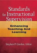 Standards for Instructional Supervision