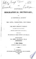 Universal Biographical Dictionary