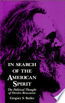 In Search Of The American Spirit Book