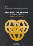 The ICSID Convention