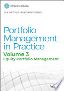 Portfolio Management in Practice, Volume 3