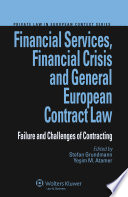 Financial Services Financial Crisis And General European Contract Law