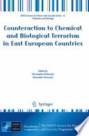 Counteraction to Chemical and Biological Terrorism in East European Countries Book