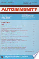 The Role Of Bacterial Antigens In Organ Specific Autoimmunity