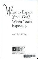 What to Expect  from God  when You re Expecting Book