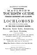 Macleod s Tourists  Guide Through Edinburgh and Glasgow  to Lochlomond