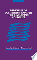 Principles Of Cost Benefit Analysis For Developing Countries