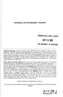 journal of economic theroy
