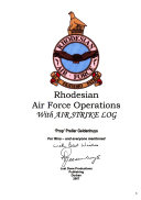Rhodesian Air Force Operations