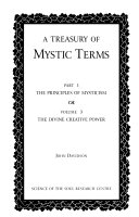 A Treasury of Mystic Terms  The divine creative power