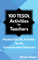 100 TESOL Activities for Teachers