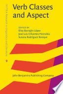 Verb Classes and Aspect Book