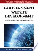E Government Website Development Future Trends And Strategic Models