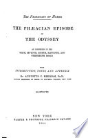 The Phaeacian Episode of the Odyssey