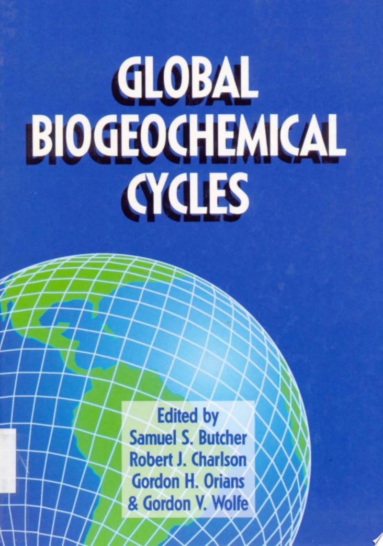 Global biogeochemical cycles banner backdrop