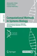 Computational Methods in Systems Biology