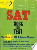 The New SAT Solutions Manual to the College Board s Official Study Guide