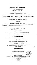 Pdf The Public and General Statutes Passed by the Congress of the United States of America