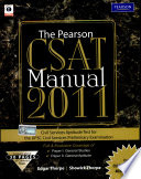 """The Pearson CSAT Manual 2011"" by Edgar Thorpe, Showick Thorpe, Thorpe Edgar"