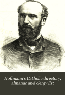 Hoffmann s Catholic Directory  Almanac and Clergy List