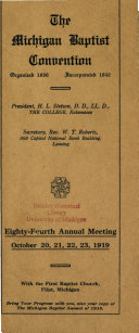 Annual Meeting [program].