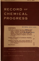 Record of Chemical Progress