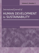 International Journal of Human Development and Sustainability