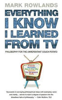 Everything I Know I Learned from TV Book