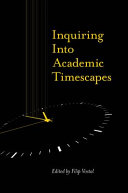 Pdf Inquiring into Academic Timescapes Telecharger